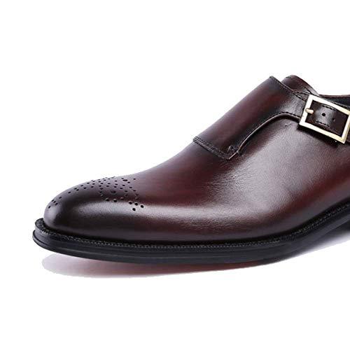 Chaussures De Jeunes Travail Chaussures en Cuir pour Hommes Jeunes De eb84c9