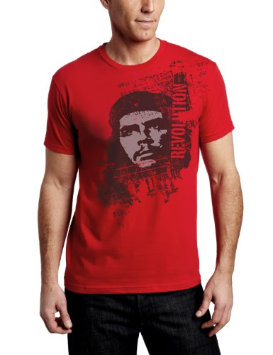 c3d6f4feb01 Che Guevara Store Men s Red Tshirt Revolutuion Distress Che Guevara
