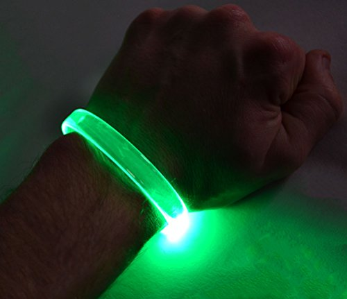 N/a Pro Optic Housing - GlowCity LED Light Up Bracelets (Green)