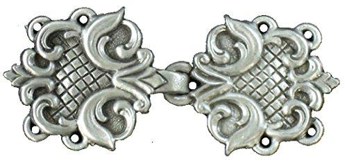 Cloak or Cape Clasp- Renaissance (Pewter)