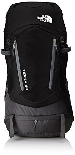3c786c1aea The North Face Terra Adult's Outdoor Backpack available in Black/Grey/TNF  Black/