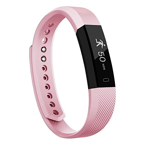 Fitness Tracker, Smart Watch Activity Tracker Pedometer Sweatproof Sports Bracelet with Sleep Monitor Calorie/Step Counter Bluetooth 4.0 for Android IOS IPhone Samsung LG and More