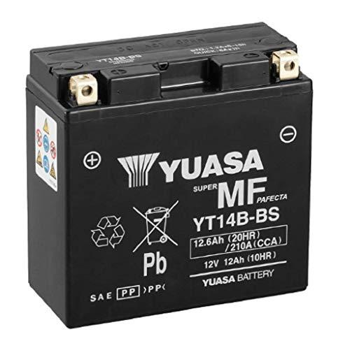 Yuasa-batterij YT14B-BS – SLA AGM