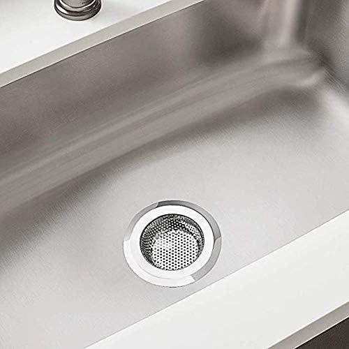 bouchon de drain de baignoire /évier,Cr/épine d/évier pour cuisine et salle de bain LABOTA 5PCS Baignoire De Vidange Couvercle de drain bouchon de cheveux 4,5de diam/ètre