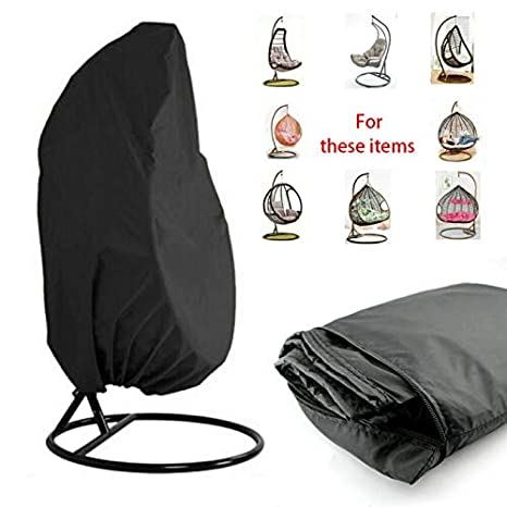 Water-Resistant,Wind Proof 210D Oxford Fabric Anti-UV Dust Cover for Swing Hanging Chair//Egg Chair Protect Furniture from Dust//Sun,Keep Clean/&New