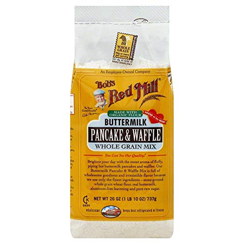 Bobs Red Mill Pancake & Waffle Mix Buttermilk Whole Grain 26.0 OZ(Pack of 3)