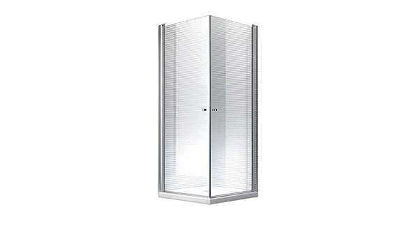 Glaszentrum Hagen - Zeus - Cabina de ducha - Ducha - Puerta abatible - mecanismo de elevación y descenso (90x90x195cm (con plato de ducha y sifón)): Amazon.es: Bricolaje y herramientas