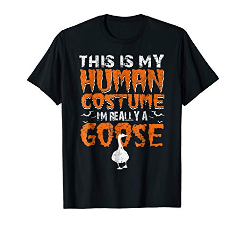 I'm Really A GOOSE Human Costume Halloween Gift