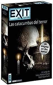 Devir- BGEXIT9 Exit - Las catacumbas del Terror, Multicolor (1): Amazon.es: Juguetes y juegos