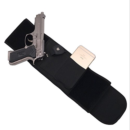 NIANPU Glock 19 17 42 43 P238, Ruger LCP Belly Band Holster
