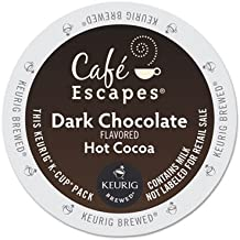 Cafe Escapes(TM) Dark Chocolate Hot Cocoa K-Cups(R), Box Of 24