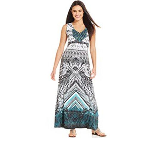 Dip Dye Maxi Dress - 8
