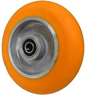 Swivel Heavy-Duty Dual-Wheel Caster 1,800-Lb Capacity Strongway 6in Polyurethane Wheels//Polypropylene Core