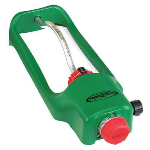 Bosch Garden and Watering 7800PMTGT Oscillating Spinkler and - Green Lawn Thumb