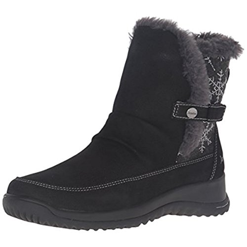 2016 Winter Fashion Women Winter Boots Shoes (Black) - 8