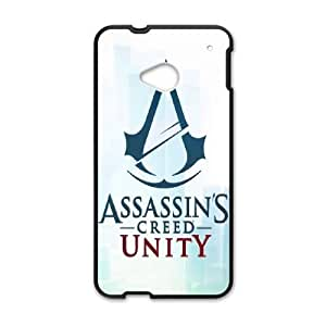HTC One M7 phone cases Black Assassin's Creed fashion cell phone cases TRUG1031808