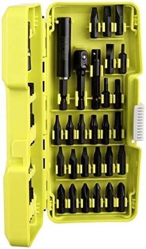 Carrying Case Impact Driving Kit Wide Range Longer Life Portability 44 Piece
