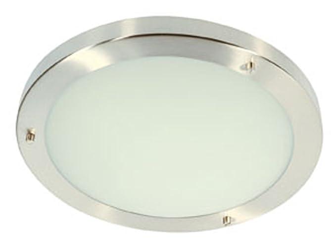 Oaks Lighting RHONDO/30 CH - Lámpara de techo para baño ...