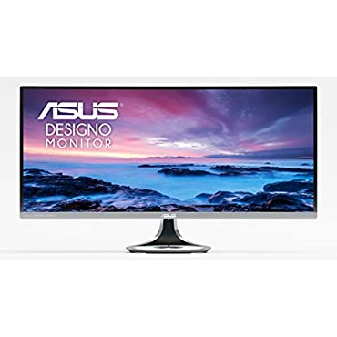 Asus MX34VQ Designo 34 21:9 (3440 x 1440) Curved Ultra-wide Quad HD 100Hz Monitor