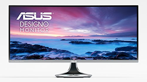 "ASUS Designo Curved MX34VQ 34"" UQHD 100Hz DP HDMI Eye Care Monitor"