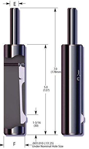 E-Z Burr Tool EZL1220-02 (31mm) HSS (Pack of 1) by E-Z Burr