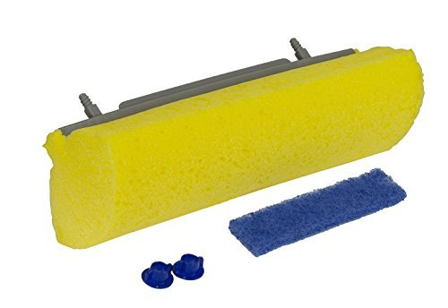Quickie Roller Mop Refill with Antimicrobial Microban, 12-Pack