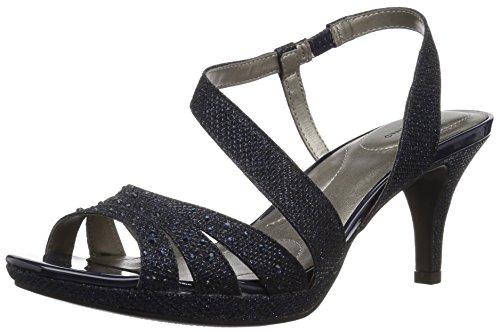 - Bandolino Women's KADSHE Heeled Sandal Navy 6.5 M US