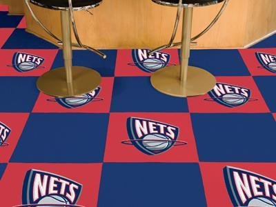 NBA - New Jersey Nets Carpet Tiles by Fanmats