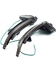 För Audi A4 A5 B8.5 B8 RS5 RS3 A3 8P S5 RS4 A6 Q3 A8 8K, dynamisk LED -blinkers Backspegelindikator blinkar ljus