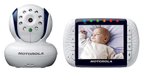 motorola wireless video baby monitor mbp34 3 5 inch digital color screen baby video monitor. Black Bedroom Furniture Sets. Home Design Ideas