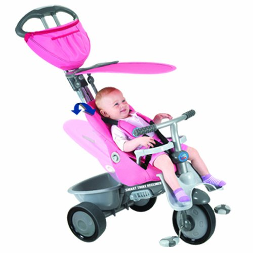 sc 1 st  Amazon UK & SmarTrike 4 in 1 Recliner - Pink/Grey: Amazon.co.uk: Toys u0026 Games islam-shia.org