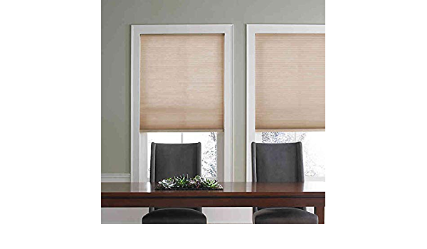 Real Simple Cordless Roman Cellular Shade Khaki, 27 X 72