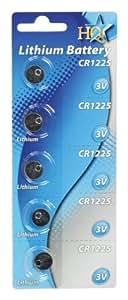 HQ -CR1225 - Pilas (Litio, Button/coin, CR1225)