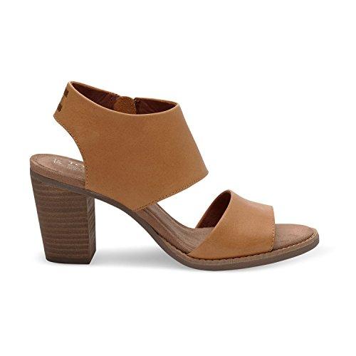 Toms Women's Majorca Cutout Sandal - Tan, 7 B(M) US