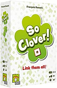 So Clover (English Version) A cooperative board Game by Repo Production | 3-6 Players - Board Games for Family