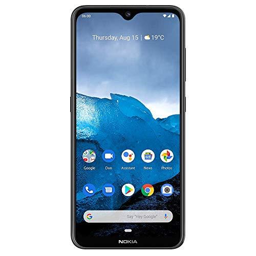 "Nokia 6.2 - Android 9.0 Pie - 64 GB - Triple Camera - Unlocked Smartphone (AT&T/T-Mobile/MetroPCS/Cricket/Mint) - 6.3"" FHD+ HDR Screen - Black - U.S. Warranty"