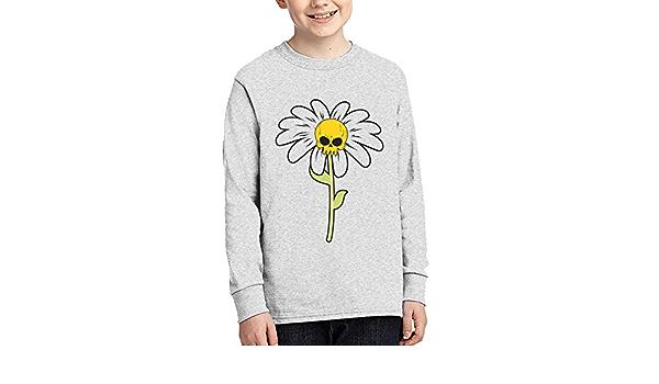 WJSDOWOWEN Camiseta de manga larga para júnior, diseño de ...