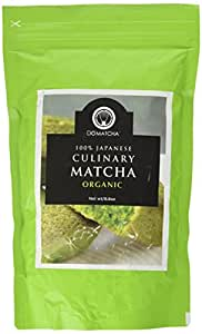 DoMatcha - Organic Culinary Matcha Powder, Authentic Japanese Green Tea Ideal for Cooking and Baking, Kosher, 20 Sachets