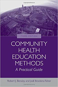Book Community Health Education Methods