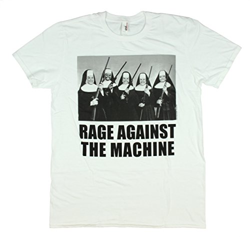 Rage Against The Machine Nuns With Guns Men's T-Shirt