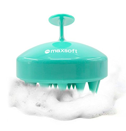 (Hair Scalp Massager Shampoo Brush, MAXSOFT Scalp Care Brush)