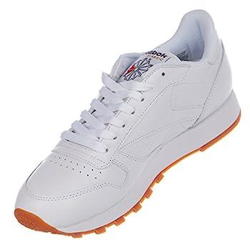 Reebok Men's Classic Leather Sneaker, Whitegum, 9 M Us 5