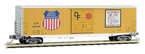Micro-Trains MTL N-Scale 50ft Double Door Box Car Union Pacific/UP #500200