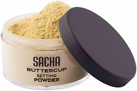 BUTTERCUP POWDER. No ashy flashback in selfies & photos. Flash-friendly loose face powder for Medium to Deep skin tones. 1.0 oz