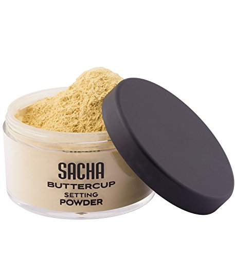 BUTTERCUP POWDER. No ashy flashback in selfies and photos. Flash-friendly loose face powder for medium to deep skin tones. 1.0 oz
