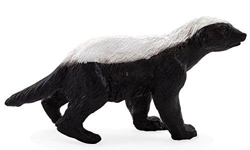 Mojo Fun 387181 Male Honey Badger - Realistic Wild Animal Toy Replica - New for 2013!