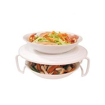 Rejilla de Plástico para Microondas para Poder Calentar o Cocinar ...