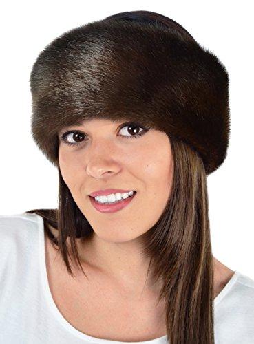 Mink Fur Headband Scarf - Beautiful Mink, Faux Fur Headband