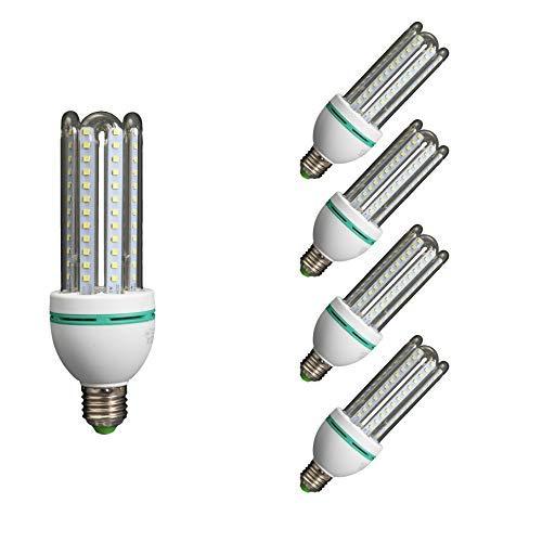 Lámpara Bombilla Led 3U Tubo E27 6400 K Luz Fría 12 W 40822 ...