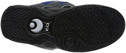 2001 Black hombre Royal skate Charcoal Zapatillas para D3 Osiris de w18qxxYTH
